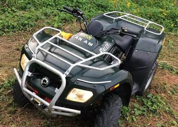 Quad Can-Am bombardier rally 200
