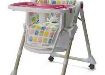 Krzesełko do karmienia dziecka. Warszawa RÓŻ wysyłka SklepK4