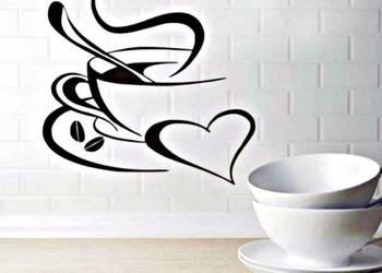 Naklejki ścienna Do Kuchni Kawa Gratis Częstochowa Sprzedajemypl