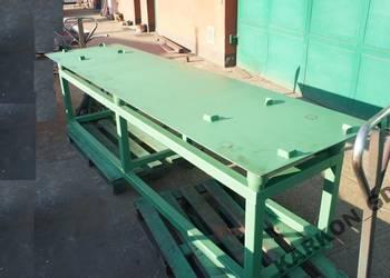 Stół wibracyjny 2,4 m długości KARKON płyty