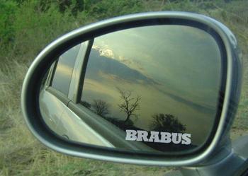 Naklejki na lusterka samochód Brabus - sprzedam
