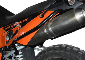 Gmole HEED tylne do KTM 950 / 990 Adv (02-12) - czarne