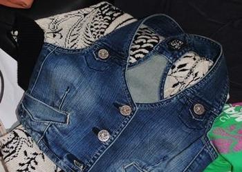 kamizelka jeansowa COLLOSEUM nowa! rozmiar M