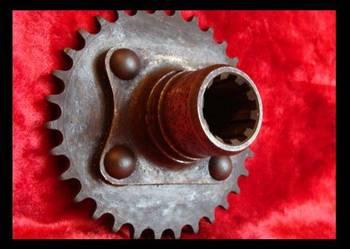 Koło zębate łańcuchowe sprzęgła Wózek widłowy RAK