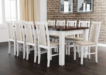 Duży stół + 10 krzeseł okazja