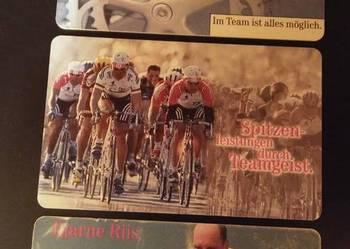 zestaw 5 - karty telefoniczne - temat - sport