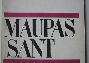Naszyjnik. Autor: Guy de Maupassant. (nr kat.1172)