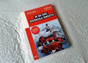 Książka W 80 Dni Dookoła Świata - Juliusz Verne 2014r.