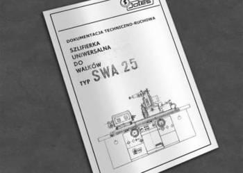 Szlifierka SWA-25, SWA 25 - dokumentacja DTR