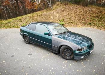 BMW e36, 325i coupe, kubełki, szpera 100%, zdrowa