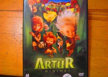 Artur i minimki plyta dvd