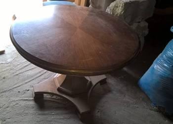 stół okrągły dembowy