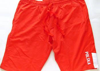 czerwone spodenk xl,czerwone spodnie dresowe xl,szorty dres