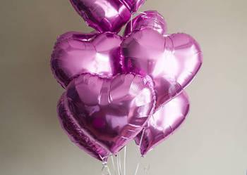 Serca Balony foliowe i gumowe  Balony z helem