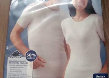 Koszulka z wełny z krótkim rękawem – unisex NOWA