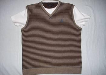 NEXT bluza bezrękawnik + t-shirt 2w1 j Nowa L