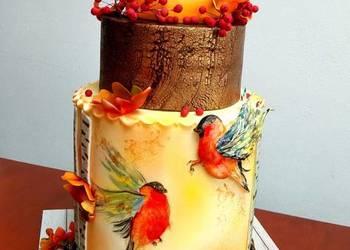 TORTY artystyczne - dekorowane pierniki babeczki