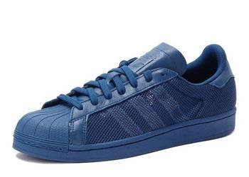 Adidas superstar  granatowe przewiewne 41/41.5  -26/ 26.5cm
