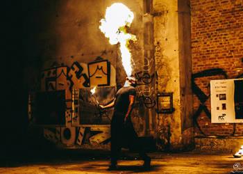 Taniec Ognia Fireshow Wesele Event Pokaz Ognia Atrakcje Ślub