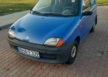 Fiat Seicento 0.9 2001r.  niski przebieg polski salon