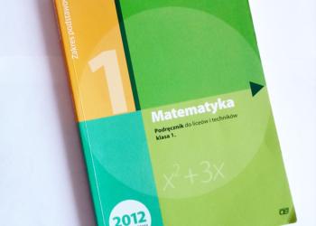 Matematyka podręcznik klasa 1 zakres podstawowy Kurczab