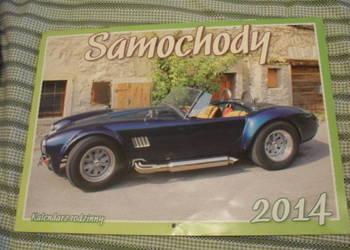 Kalendarz rodzinny 2014 - Samochody