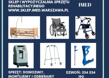 Bardzo dobra Sprzęt rehabilitacyjny - wypożyczalnia - sprzedaż Kielce SD02