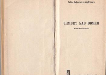 (01045) CHMURY NAD DOMEM (WSPOMNIENIA ŁĄCZNICZKI) – ZOFIA HE