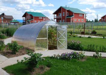 Szklarnia ogrodowa Strzałka 3m x 8m x 2,4m, poliwęglan