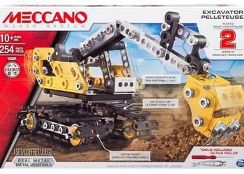 Zestaw Konstrukcyjny Meccano Core Koparka 254el.do składania
