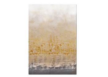 Golden Bay 2, abstrakcja, nowoczesny obraz ręcznie malowany