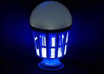 LAMPA CRONOS OWADOBÓJCZA NA KOMARY ĆMY LED UV
