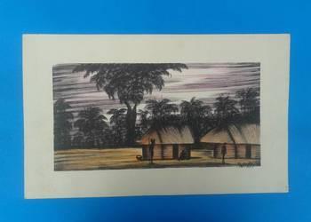 4. Wykonawca - Artysta - MWAMBA - Oryginalny rysunek z Zambi