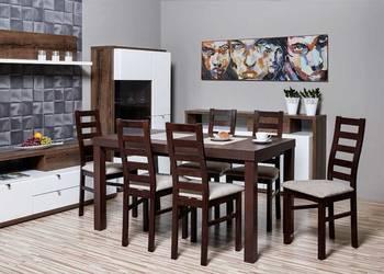 Stół 80/140/180 + 6 Krzeseł - Tanio,dostawa cała Polska