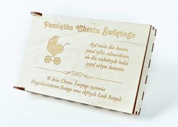 Pamiątka Chrztu Świętego, pudełko na pieniądze NP1