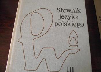 """""""SŁOWNIK JĘZYKA POLSKIEGO"""" ( 3 tomy) - PWN - 1983r."""