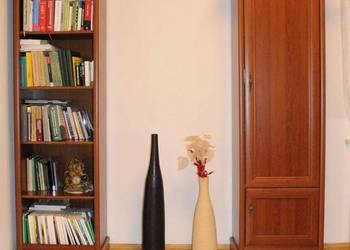 Szafka witryna na książki w Black Red White