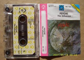 ROCK ,kaseta  ; PSYCHE --THE INFLUENCE.