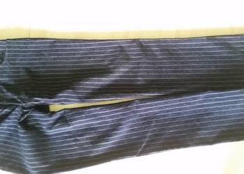 XL-XXL, SEMCO, spodnie męskie, semco, czarne w prążki, na co