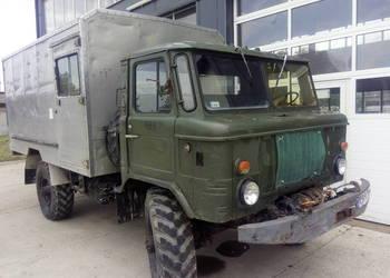 GAZ 66 4x4 off road kamper wyciagarka mechaniczna specjalny