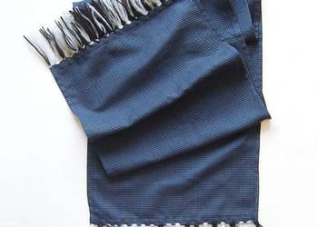 Szalik w ciemnym kolorze,grafitowy szalik,długi szalik,szal