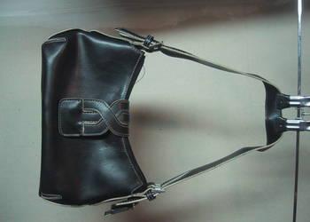 Wallis.Ciemno-brązowa mała torebka na ramię.Skóra.Wysyłka