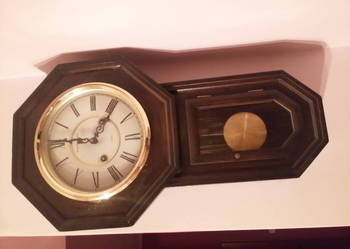Zegar stary wiszacy