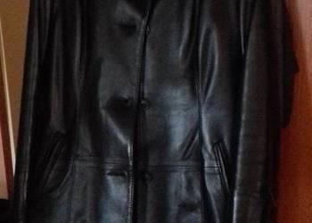 Płaszcz skórzany nowy