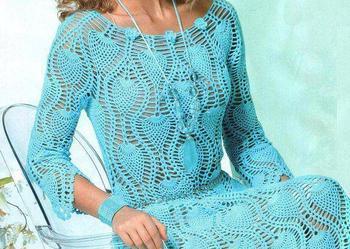 Na szydełku sukienka w dowolnym kolorze i rozmiarze