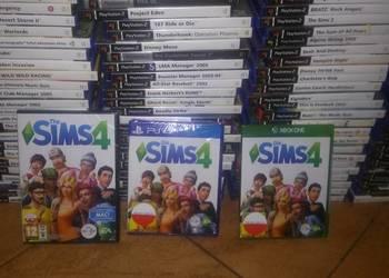 SIMS SIMSY 4 3 PS4 PS3 PC KOMPUTER XBOX 360 XBOX ONE NOWA !