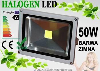 Halogen Naświetlacz Lampa Reflektor LED 50W wodoodporny !!!