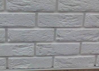 płytki dekoracyjne scienne gipsowe biała cegła z gipsu