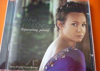 """Płyta CD Joanna Lewandowska """"Najwcześniej później"""" Buszman"""