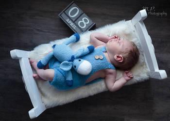 Drewniane łóżeczko foto rekwizyt do sesji zdjęciowych kolory